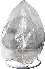 Trendyshop365 Regenhaube Schutzhülle für Hängesessel XXL Universalgröße transparent