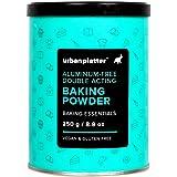 Urban Platter Aluminum-Free Baking Powder, 250g [Double Acting, Vegan, Gluten-Free]