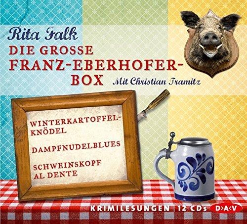 Preisvergleich Produktbild Die große Franz-Eberhofer-Box (12 CDs)