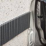 Pare-chocs sur Murs Mondaplen. Protection Portière Voiture, Utilisées sur les Murs de Garage pour ne pas Endommager les Portières des Voitures. Chaque Kit Contient 2 Bandes de ≈ 1.35 m x 17 cm.