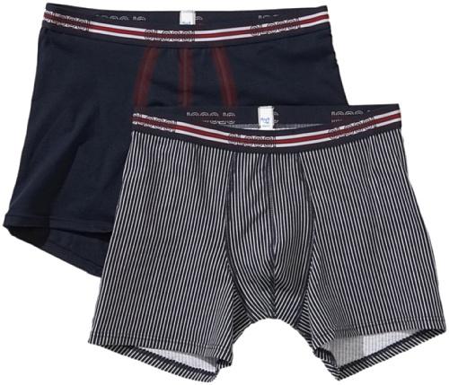 Sloggi pantalon pour homme men pack for 2 short pour match c2P (1NC20) Multicolore - Mehrfarbig (Blue Light Combination)