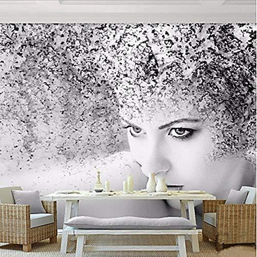 qbttec Tapete/Wandbild Leinwand Wandabdeckung - Klebstoff Benötigt Art Deco/Muster / 3D-416cmX254cm