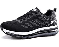 Running Shoes Men Women Trainers Breathable Sports Sneakers Lightweight Air Cushion Shock Absorbing Non Slip Fashion Casual F