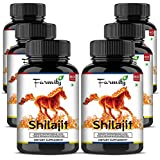 Farmity Shilajit 800 Mg - 100% Natural & Pure - 60 Capsules (Pack Of 6)