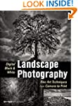 Digital Black & White Landscape Photo...