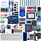 immagine prodotto Elegoo Progetto Arduino Scheda UNO R3 Starter Kit Piu Completo per Principianti con Tutorial in Italiano Learing Kit di Apprendimento (63 Articoli)