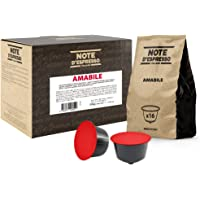 Note D'Espresso Amabile Miscela di Caffè Torrefatto in Capsule Compatibili con Sistema Dolce Gusto - 336 g (48 x 7 g)