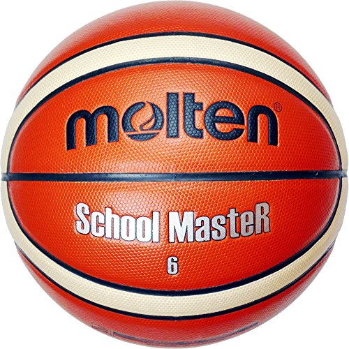 molten Basketball, Orange/Ivory, 6, BG6-SM