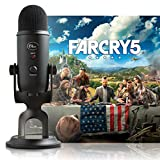 Blue Blackout Yeti USB Mikrofon + Far Cry 5 PC: Streamer Bundle