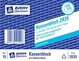 Avery Zweckform Kassenblock m. Additionsblatt