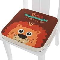 Lelesta Cuscino Rialzo da Sedia per Bambini, Fansu Comodo e Facile da Pulire Smontabile Regolabile Cuscino Alzasedia per…
