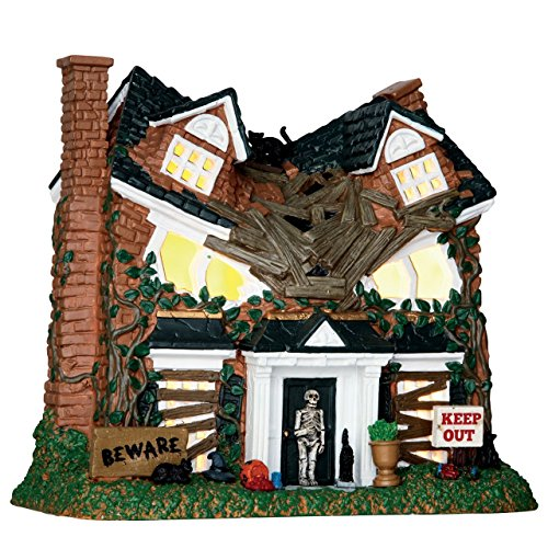 aple Street - Beleuchtetes Haus - Spooky Town - Halloween Village - Dorf ()