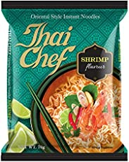 Thai Chef Oriental Style Instant Noodles, Shrimp, 70g (Pack of 3)