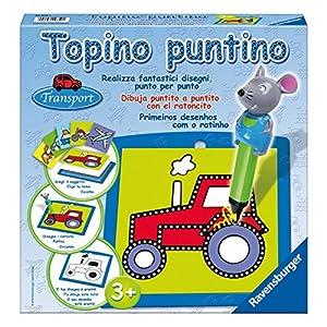 Ravensburger - Topino Puntino Transportes, juego creativo (29850 1)