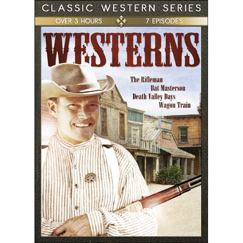 TV Classic Westerns: Bat Masterson/Death Valley Days/The Rifleman/Wagon by Stanley Andrews