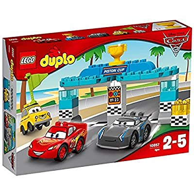 Lego DUPLO - La course de la Piston Cup - 10857 - Jeu de Construction