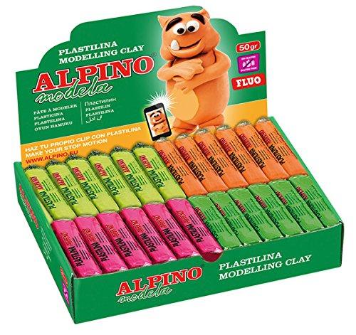 Alpino DP000915FL – Expositor 24 unidades de plastilina
