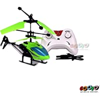 Gooyo Exceed Induction Flight Electronic Radio RC Remote Control Toy Charging Helicopter with 3D Light Toys for Boys Kids (Indoor Flying)
