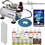 Best Master Airbrush Airbrush Paints - Master Airbrush Brand Finger Nail Decorating System. 1 Review