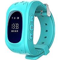 Localizzatore GPS Smartwatch per Bambini, Orologio Telefono con GPS Locator Chat SOS Vocale Anti-lost da Polso Ragazzi…