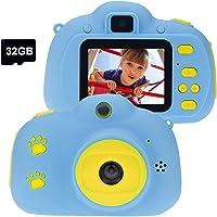 Cocopa Appareil photo numérique pour enfants - Carte SD de 32 Go - Cadeau pour les tout-petits - Jouets pour garçons et…