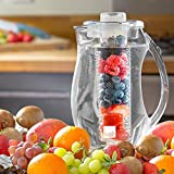 Taylor & Brown® Fruit Infusion Water Pitcher Jug 2.0L With Ice Core