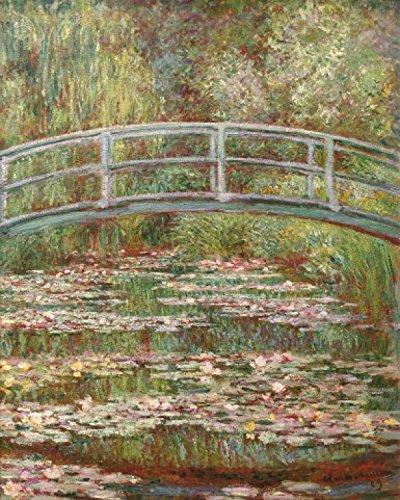 1art1 52155 Claude Monet - Die Japanische Brücke, 1899 Kunstdruck 50 x 40 cm -
