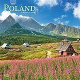 Poland - Polen 2019 - 18-Monatskalender mit freier TravelDays-App (Wall-Kalender)