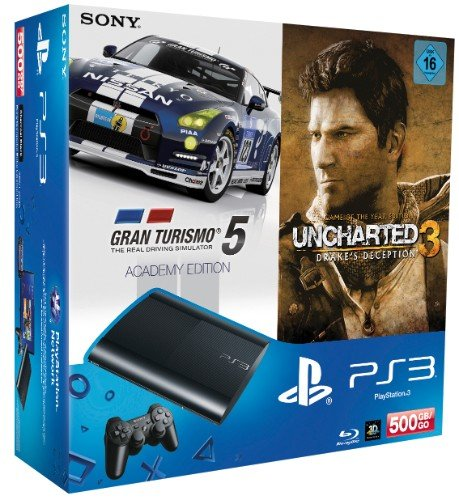 Uncharted 3: Drakes Deception - Gran Turismo 5: Academy Edition