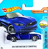 HOT WHEELS® Ford Mustang GT Convertible - Cabrio 2015 - 1:64 - nachtblau