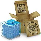 Labyrinthe d'argent pour une amusante et nouvelle idée de cadeaux à offrir