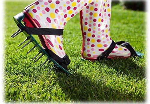 enrichi-de-pelouse-reniflard-aerator-sandales-chaussures