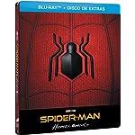 Spider-Man: Homecoming (BD + BD Extras) (Edición Especial Metal) (Con Comic) [Blu-ray]