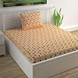 Divine Casa Single or Double bedsheet,Blanket and Pillow Cover (Single Bedsheet)