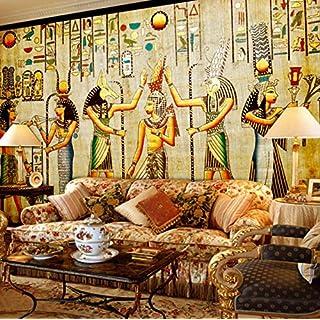 3D Mural Custom Wall Wallpaper Egyptian Figures Large Wall Living Room Restaurant Bedroom Home Decor Wall Paper Classic 500X280CM