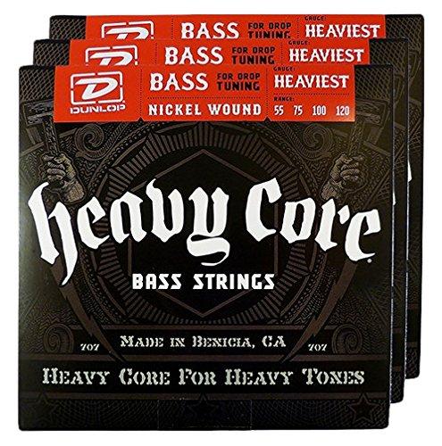Dunlop DL STR DBHCN 055/120 Bass Heavy Core Strings