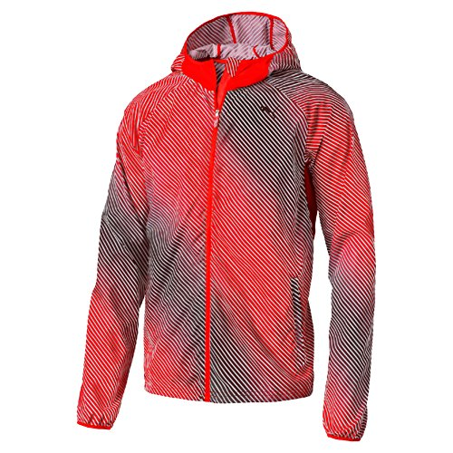 PUMA Packable Woven Jacket - Chaqueta running para hombre, color rojo,