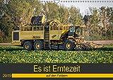 Es ist Erntezeit auf den Feldern (Wandkalender 2019 DIN A3 quer): Landmaschinen zum Anfassen nah (Monatskalender, 14 Seiten ) (CALVENDO Mobilitaet)