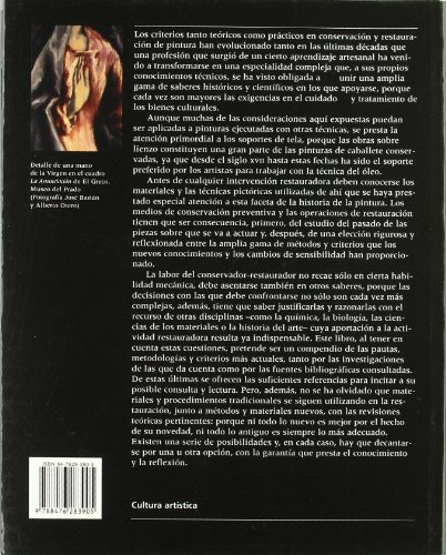Conservación y restauración de pintura sobre lienzo (Cultura artística) por Ana Calvo