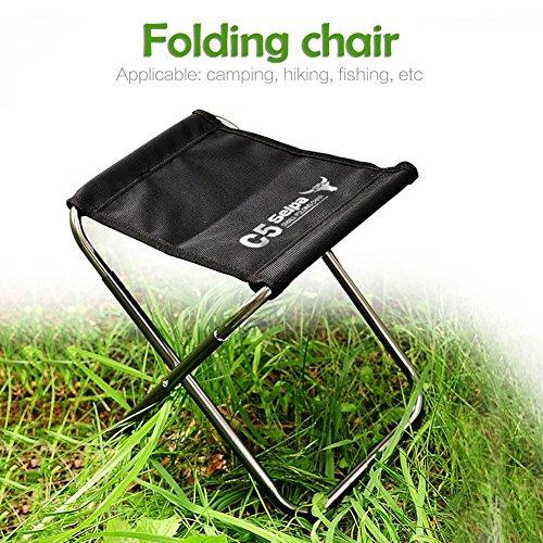 Yestter Klapp Camping Stuhl Leichte Tragbare Festival Angeln Outdoor Reise Sitz Aluminium Outdoor Klappstuhl C5 Angeln Hocker Camping Picknick Wandern Tasche Verpackung