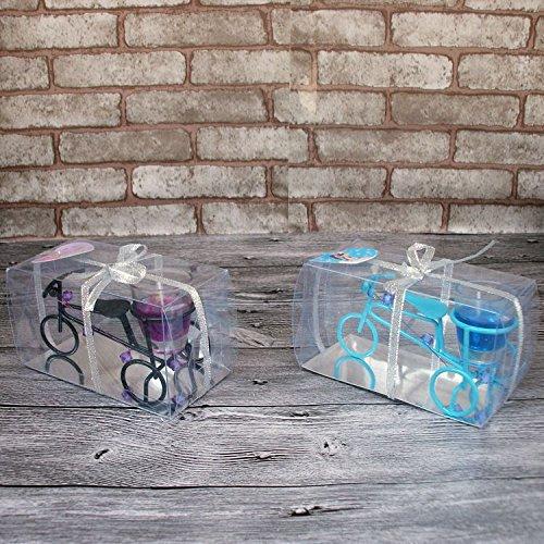 &zhou Bici gelatina candela titolare idee regali di nozze raffinati gioielli di colore casuale , random