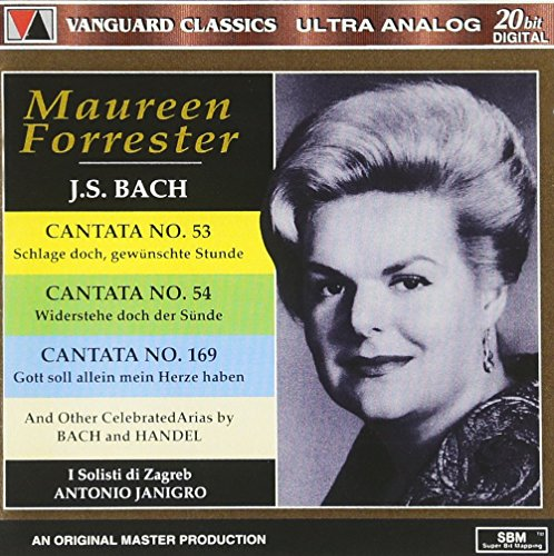 J. S. Bach : Cantata, n° 53, 54 et 169 / Handel : Samson, Jephtha et Messiah [Import USA]
