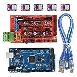popprint RAMPS 1.4Controller mit MEGA2560R3mit 5x DRV8825Treiber für Stepper Motor Driver Modul für 3D RepRap Drucker