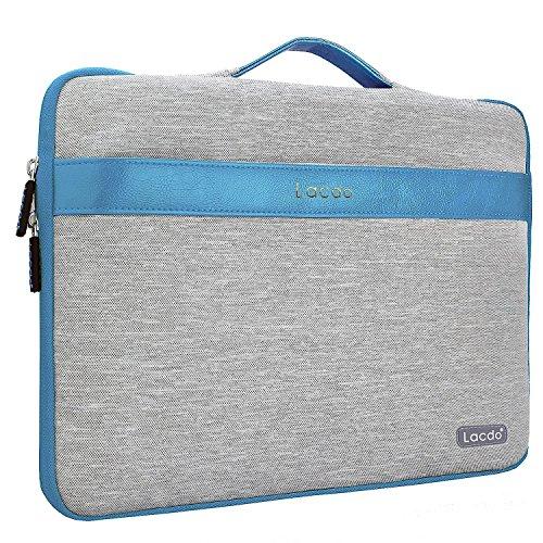"Lacdo 14-15.4 Zoll Wasserdichte Laptop Sleeve H¨¹llen Notebook Tasche f¨¹r Macbook Pro 15"" Retina Desiplay / Protective Ultrabook ASUS, Toshiba, Dell, Lenovo, HP, Chromebook,Blau"