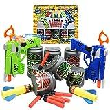 Enlarge toy image: Street Kidz Twin Dart Gun Can-Buster Game *Tin Can & Shooting Game* Kids FUN Toy