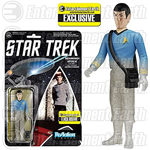 Star Trek ReAction Action Figure Figura Phasing Mister Spock 10 cm Funko