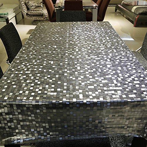 20-gauge-vinyl (colorbird Mode, 23Gauge klar PVC-Kunststoff Tischdecke wasserdicht/Klebefolie Mosaik gemustert stabiler Tisch für Küche Essen Tischplatte Cover, Mosaic, 54