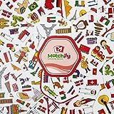 PikyKwiky Matchify Card Game - Travel Theme