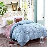 DD RFWEQ ETYU Modernen Minimalistischen Stil Gestreifte Blumen/Blumen 100% Baumwolle Bettbezug - Ich 220 * 240 cm (87 x 94 Zoll)