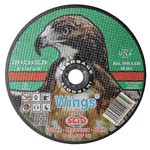 Gris 230 x 3 mm Dewalt DT43641-XJ Disque /à Tron/çonner